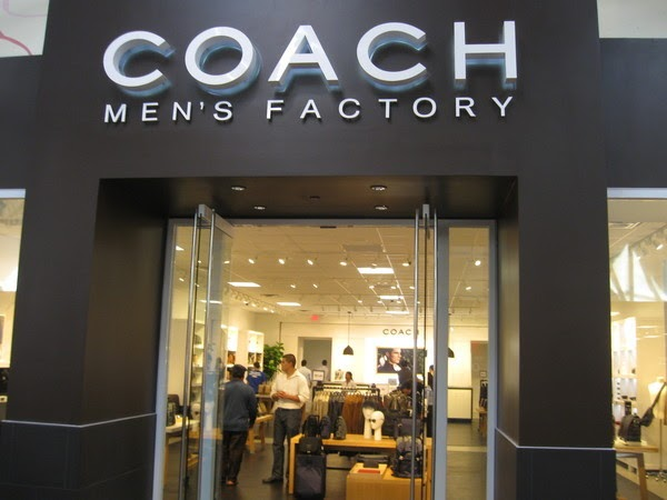Coach Mens store opening in Arundel Mills
