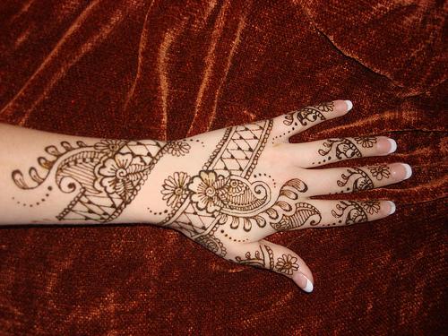 Mehndi Hand Patterns Diwali : Henna diwali patterns makedes