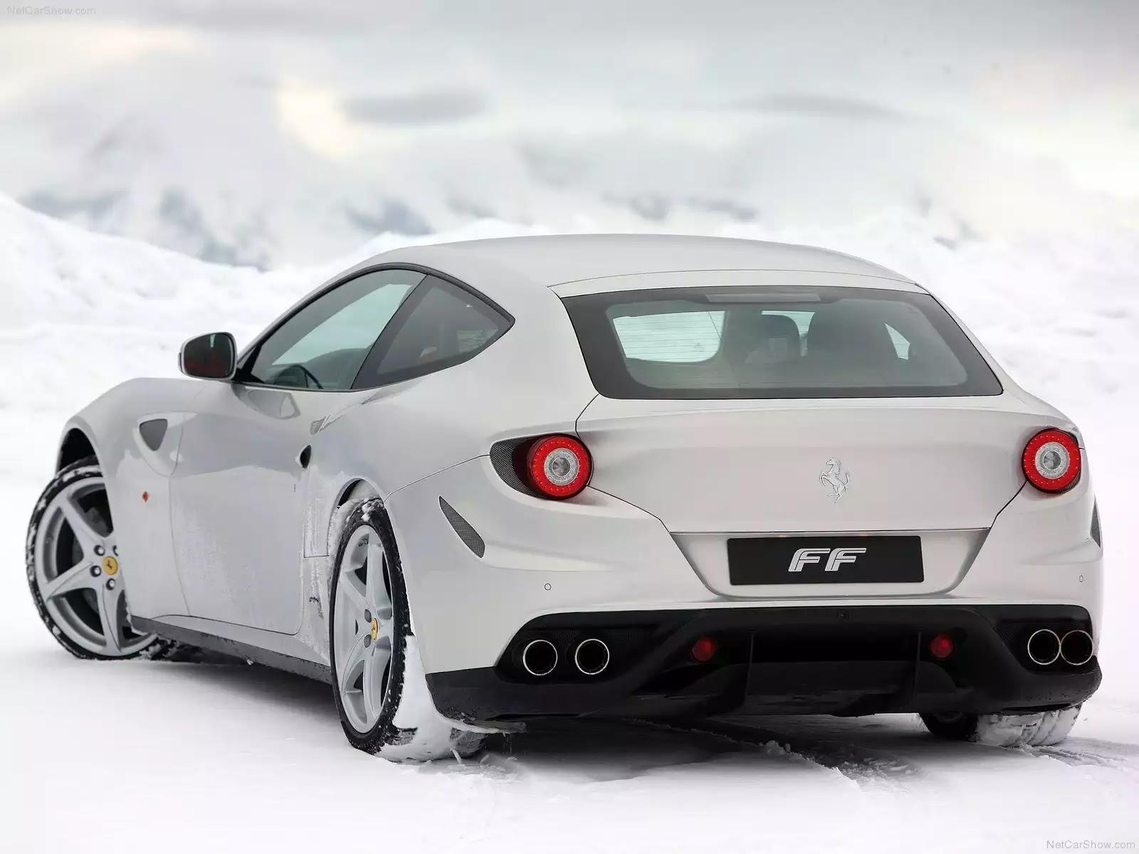 Hình ảnh siêu xe Ferrari FF Silver 2012 & nội ngoại thất