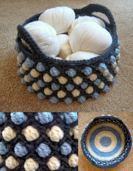 Honeycomb Pop Basket - Free Pattern