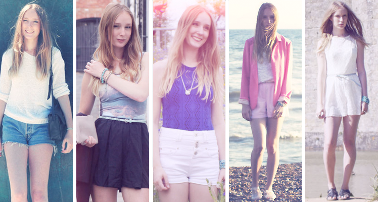 Sarah Loves Blog 2012 summer outfits