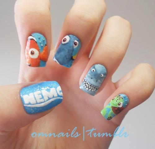 Q Riouser Q Riouser Nail Art: Nail Arts De Animações