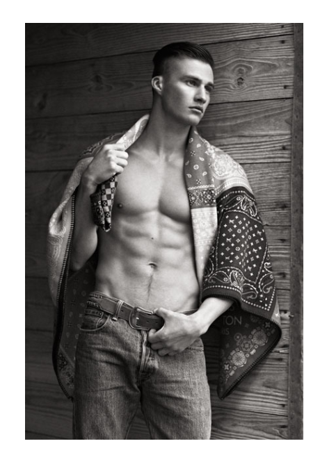 Matt Williams by Bruno Staub for Out Magazine