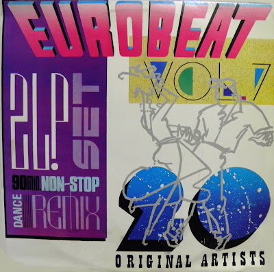 EUROBEAT - Volume 7 (90 Minute Non-Stop Dance Remix) (2LP Set) 1989 Various Artists Hi-NRG Italo House Disco 80's Classic VERY