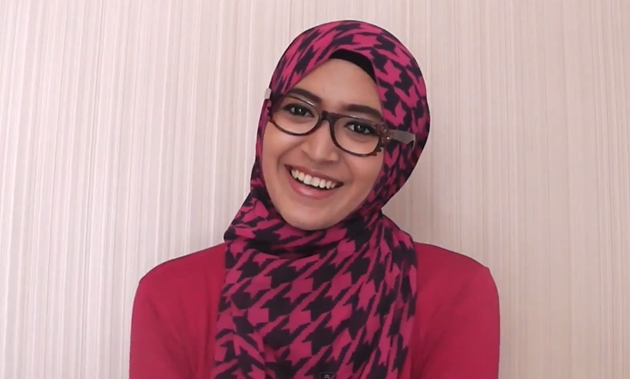 Cara Hijab Ngantor | Tutorial Hijab Lengkap