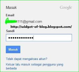 cara membuat akun blogger.com