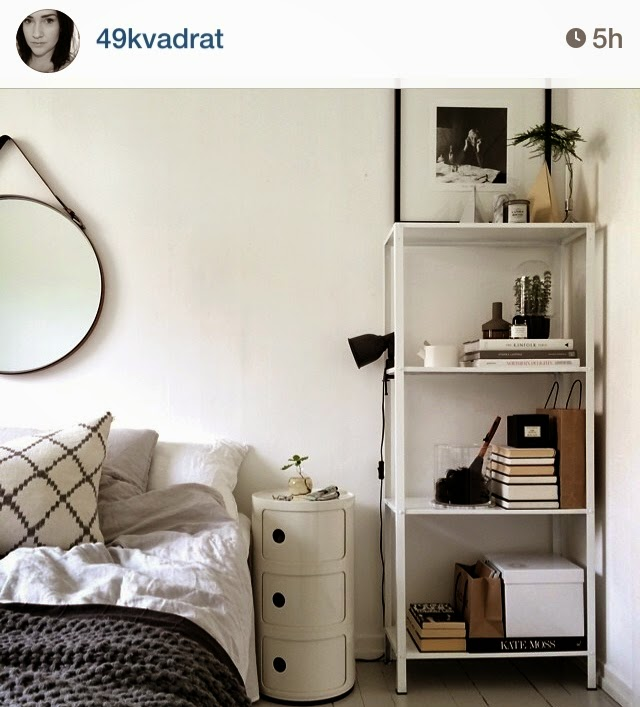 Inspiración Instagram: imágenes frescas, color blanco y muebles ligeros
