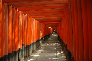 Fushimi Inari Shrine near Kyoto