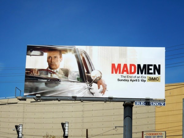 Mad Men The End of an era billboard