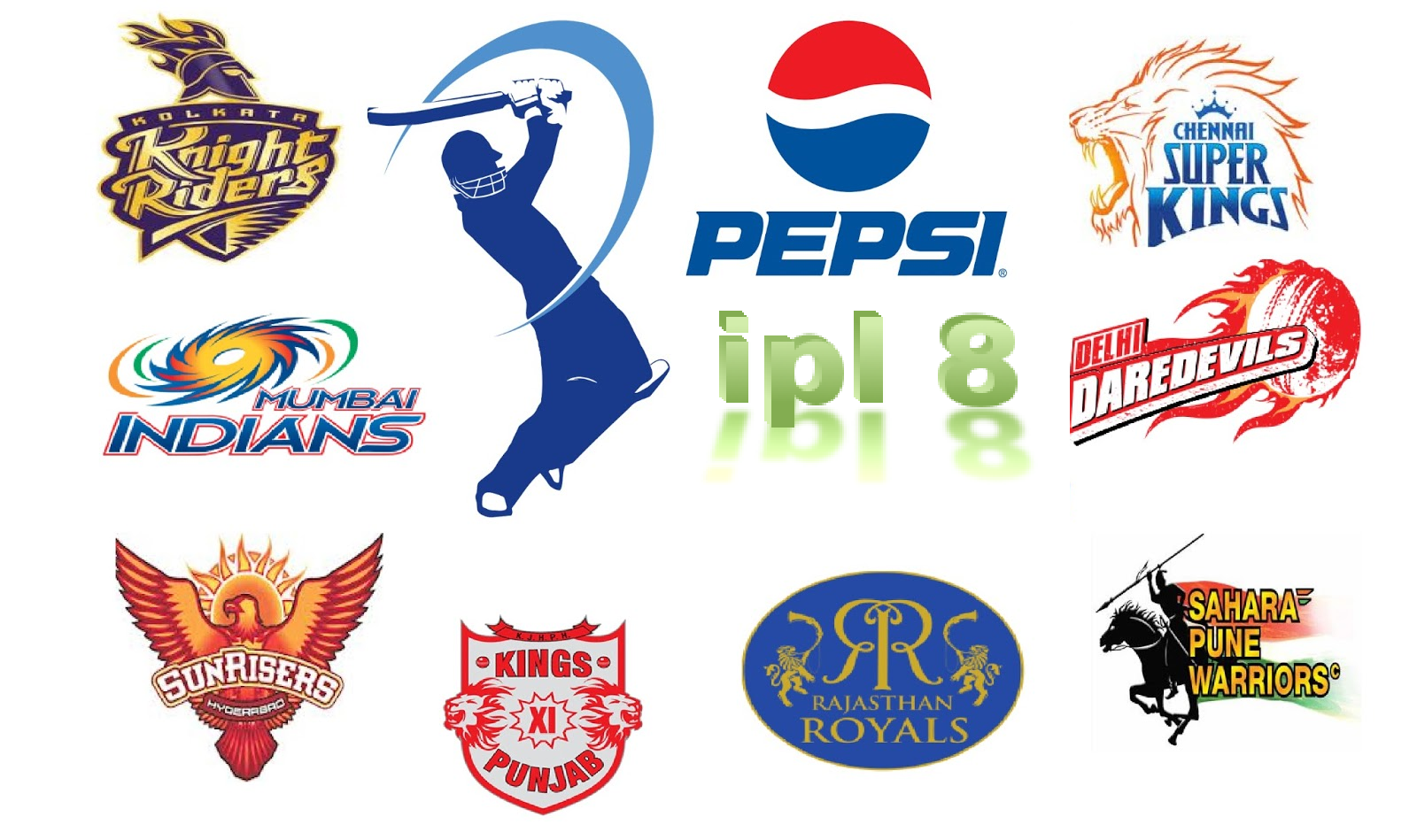 IPL 8 Points Table