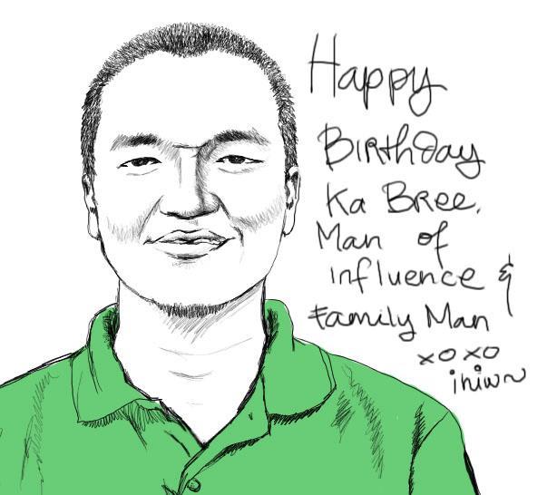 Making Brian Harsanto ! Happy Birthday daddy #brian32th