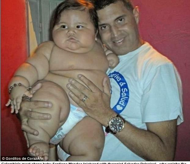 bebê mais obeso