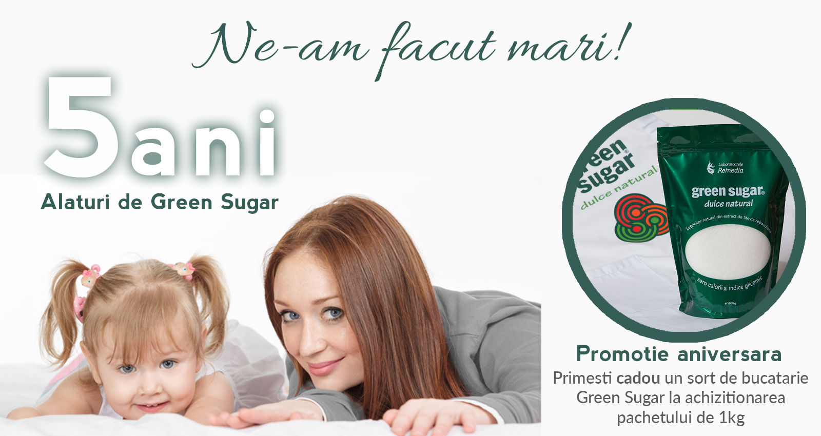 Green Sugar, zero calorii si zero indice glicemic