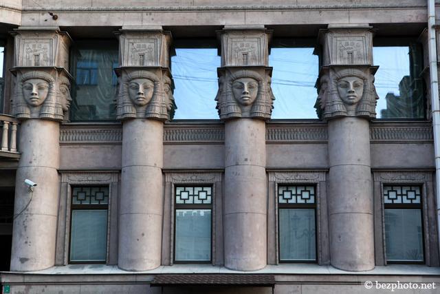 архитектура модерн в санкт петербурге