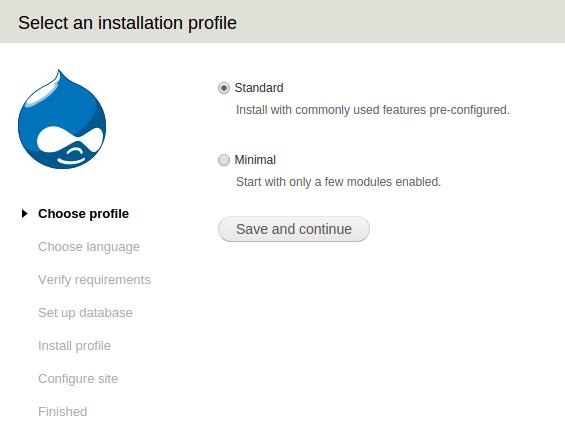instal drupal step-1