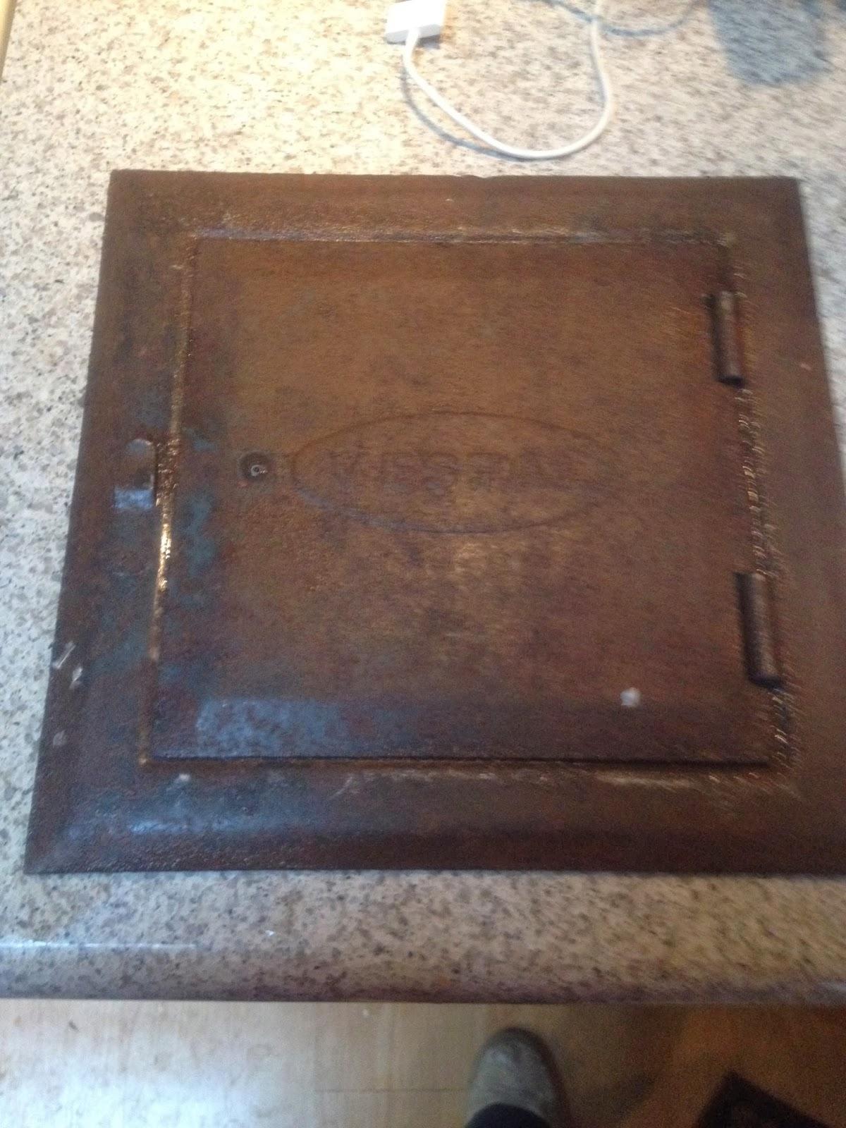 Vestal Cleanout Door St 88 Do It Best Fireplace Cleanout Door ...