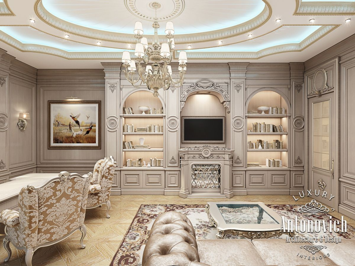 Luxury Antonovich Design Uae Office Design By Kateryna Antonovich