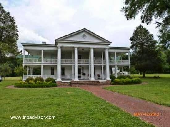 Mansión sureña Antebellum en Alabama