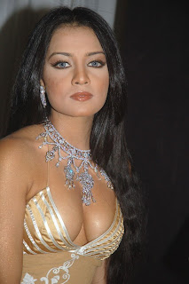Celina Jaitley showing her boobs and hot dress in style