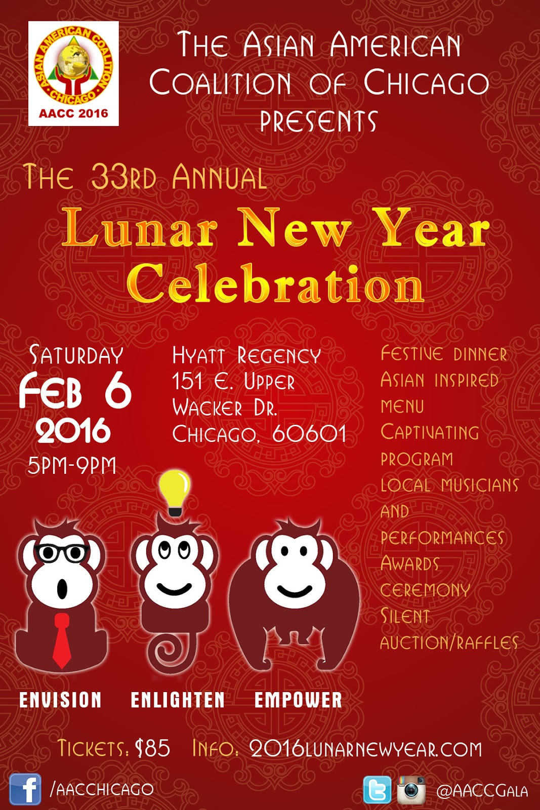asian american coalition of chicago - When Is Chinese New Year 2016