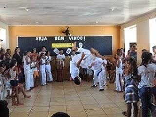 SEMANA DE EDUCAÇÃO PARA A VIDA - ESCOLA ESTADUAL LUZIA MENDES, BAIRRO DENTE GRANDE, EM JANAÚBA