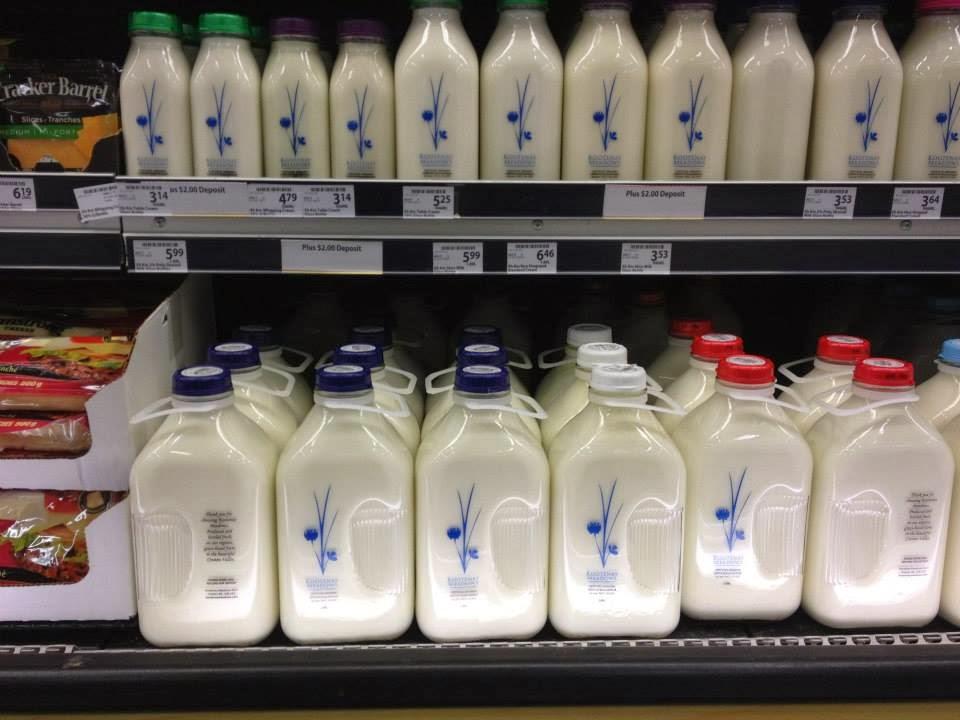 Nonnie S Blog Glass Milk Bottles Seen In Kimberley Bc