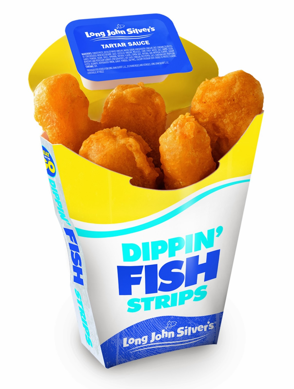 Nifty niblets new from long john silver 39 s dippin 39 fish for Long john silver s fish and chips
