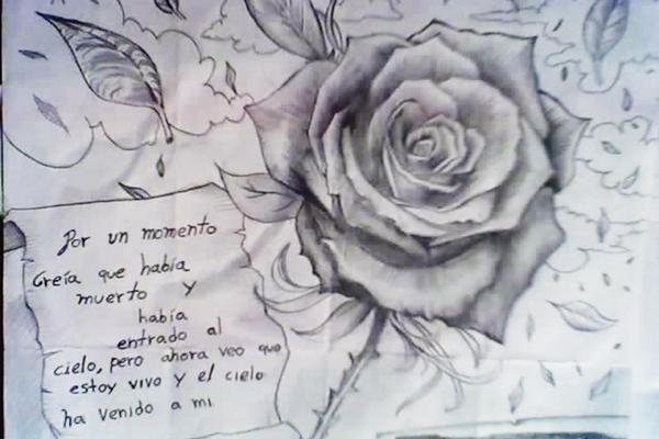 Dibujos de rosas y corazones chidos - Imagui