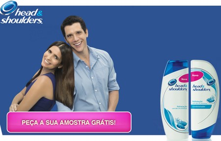 Amostra Gratis Shampoo Head e Shoulders