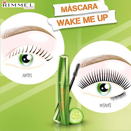 máscara de pestañas Rimmel London Wonder'Full Wake Me Up Mascara