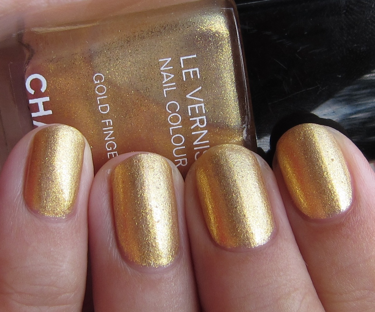 chanel in gold fingers + comparisons