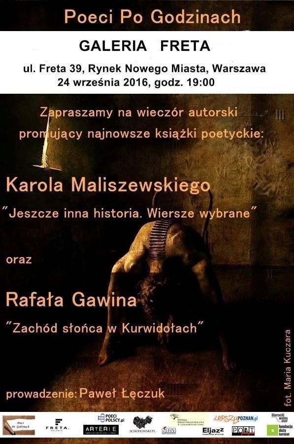 Karol Maliszewski czyta wiersz