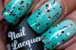 Nail Lacquer UK Sticks and Stones Red
