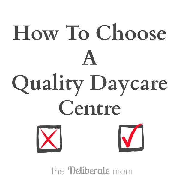 How to choose quality child care and checklist