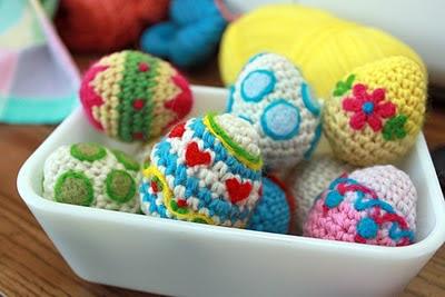 Crocheting Easter Eggs : Las Teje y Maneje: CROCHET EASTER EGG