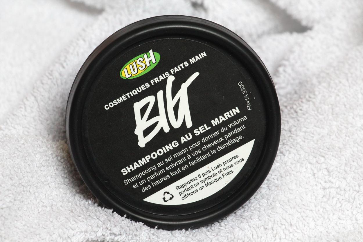 Big Lush shampoo