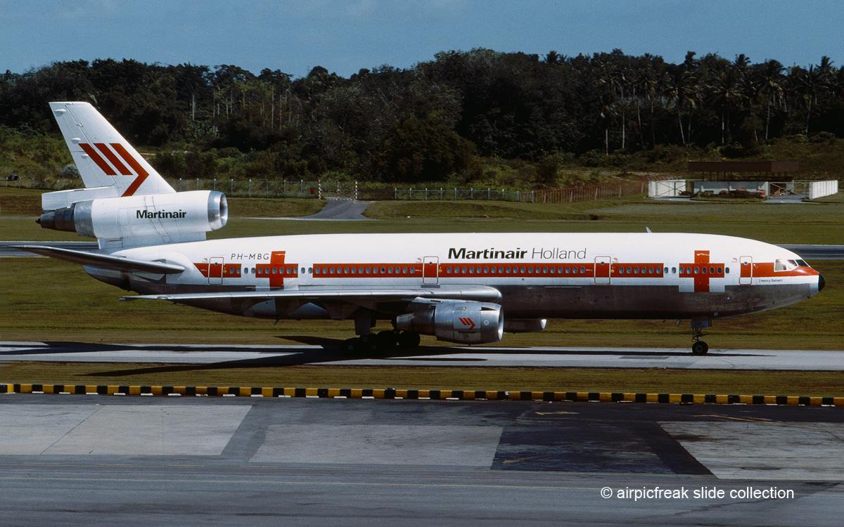 Martinair Holland McDonnell Douglas DC 10 30 PH MBG SIN Dezember 1979