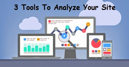 tools to analyze your site