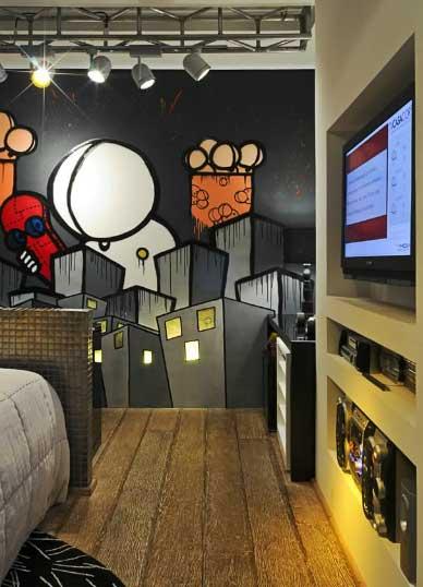 Dormitorios - Graffitis para habitaciones ...