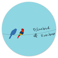 Bluebird &amp; Rainbow
