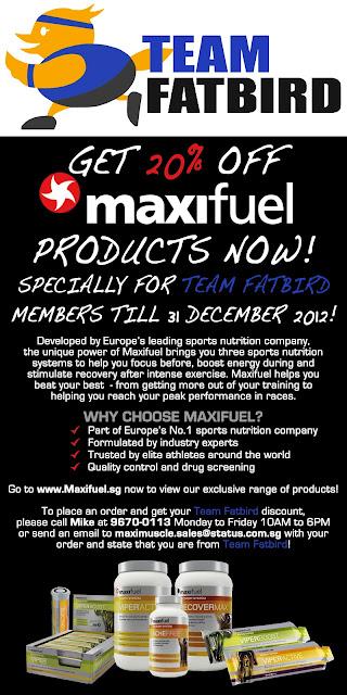 Ops Sunbird: Maxifuel Discount For FatBirds