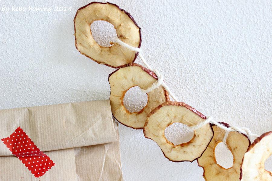 Südtiroler Apfel, Geschenk aus der Küche, Dörräpfel