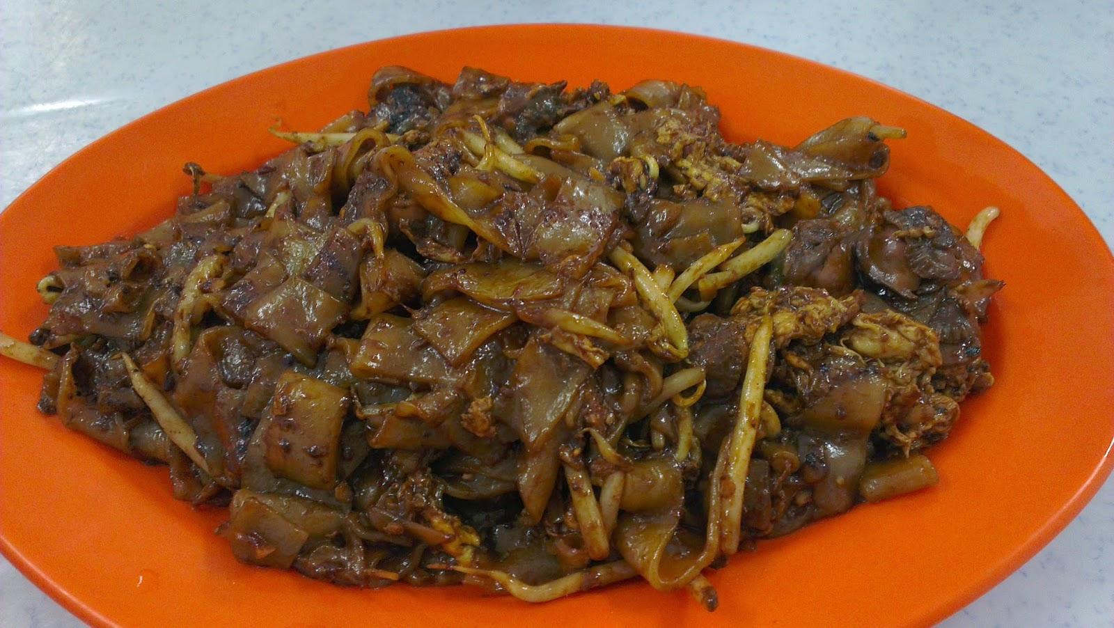 拥有60年历史的萬津日本炒粿条(Jipun Char Kuey Teow)