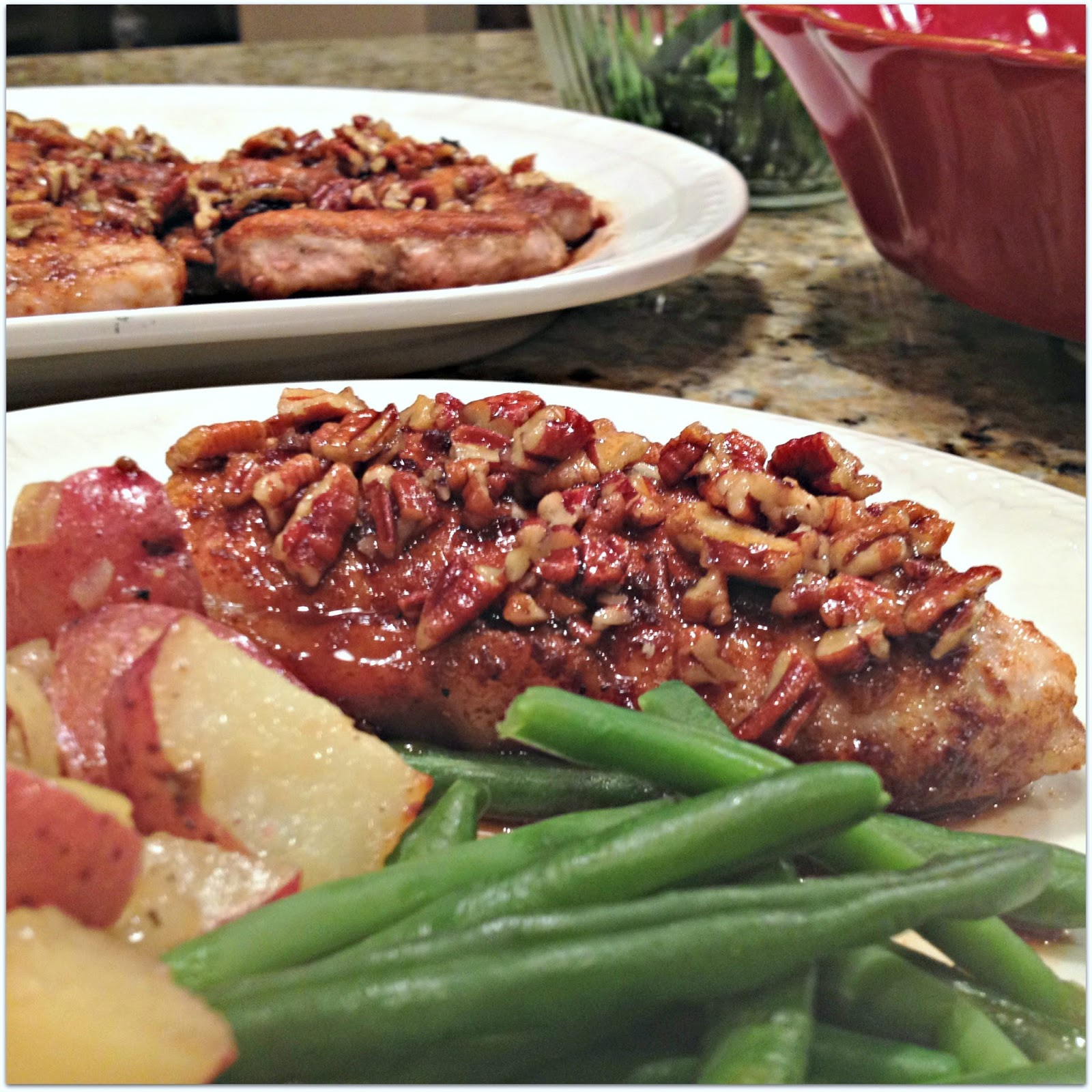 allrecipes com awesome honey pecan pork chops the recipe has almost ...