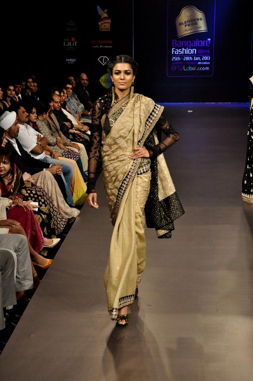 Grand Finale Designer Ritu Kumar At Banglore Fashion Week Summer