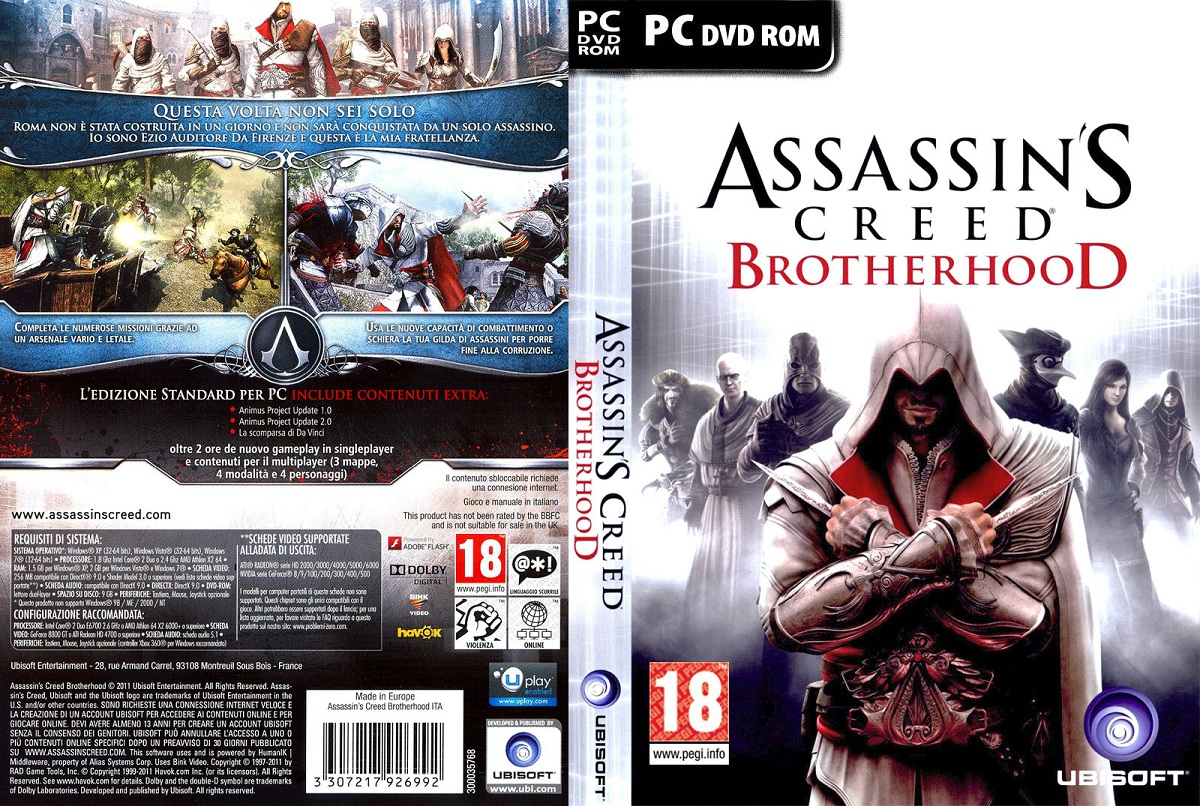 Assassins Creed: Brotherhood on the PC has finally received some. We alrea
