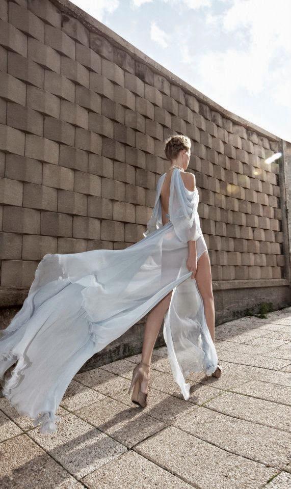 Manhattan Mayhem Evening Dresses by Galia Lahav - blue