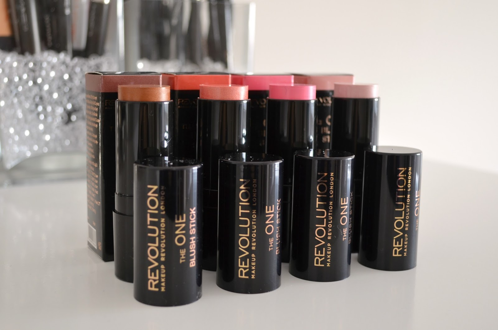 Makeup Revolution The One blush sticks review sheen formula