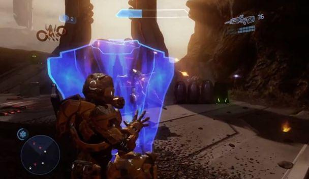 Neko Random A Look Into Video Games Hardlight Shield Halo