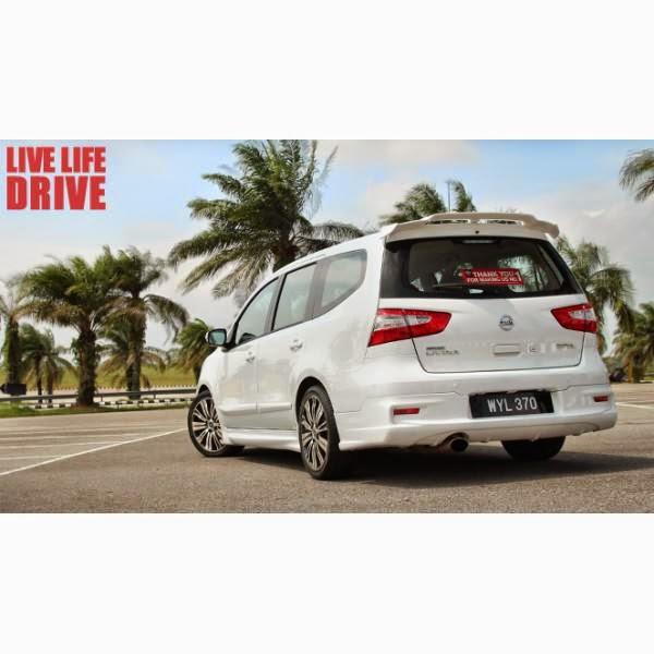 add on Nissan Grand Livina Impul 13-14